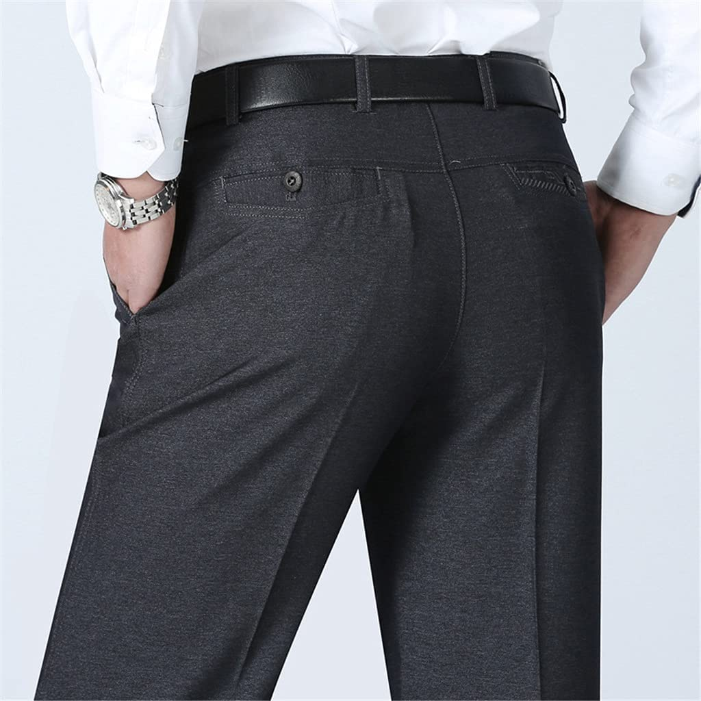 GYZCZX Casual Straight Trousers Surprise price Suit All items in the store Dress Pants Summer Men