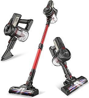 INSE Cordless Vacuum Cleaner Stick Handy& Extendable, 2 in 1 Lightweight Quiet Handheld Vac for Pet Hair Hardwood Floors C...