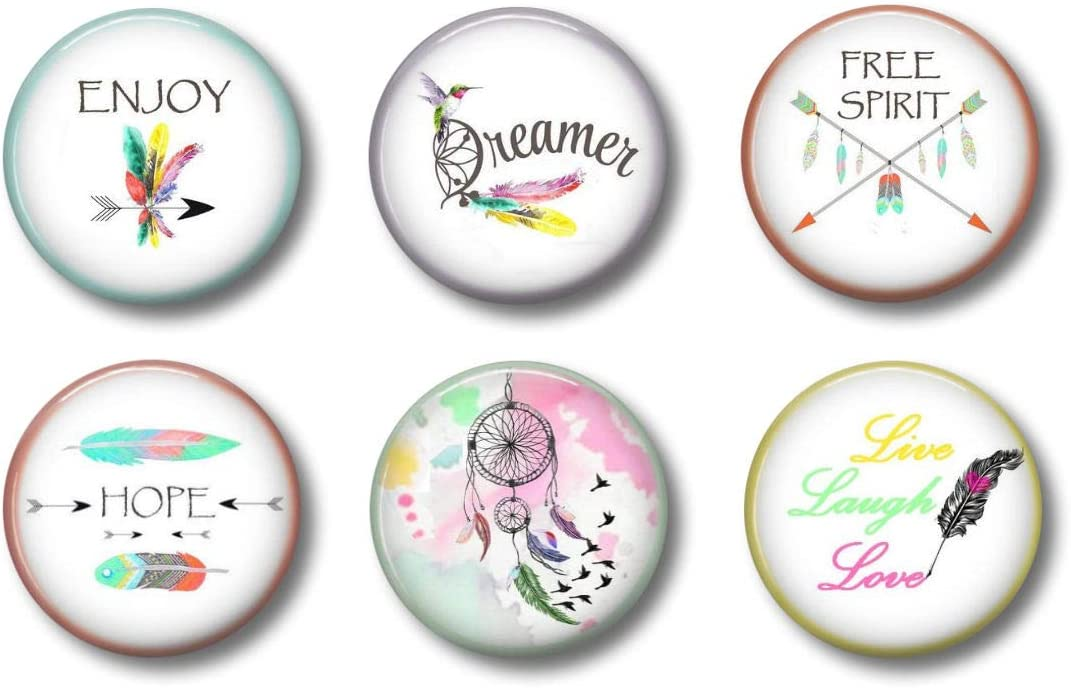 Boho Feathers Magnets - Cute Raleigh Mall Girls For Teenage Many popular brands Locker