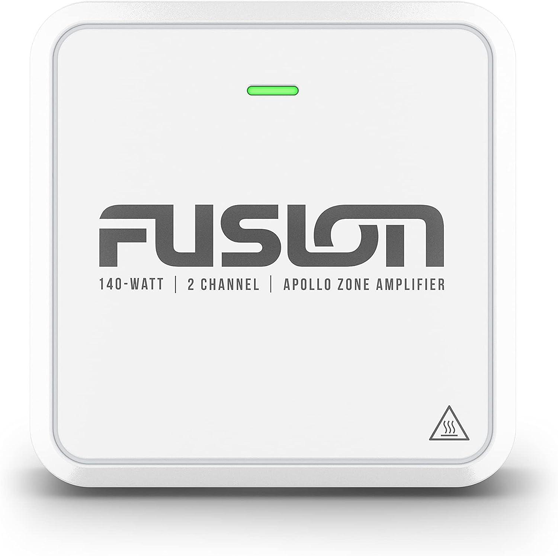 Fusion Apollo Series, AP-DA214 2 Channel 140-watt Marine Zone Amplifier, a Garmin Brand