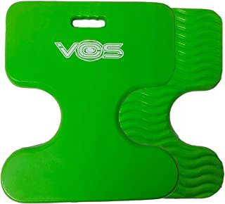 Vos Oasis Premium Water Saddle Floating Pool Toys Lake Summer Water Float Saddle 2 Pack (Kiwi Green)