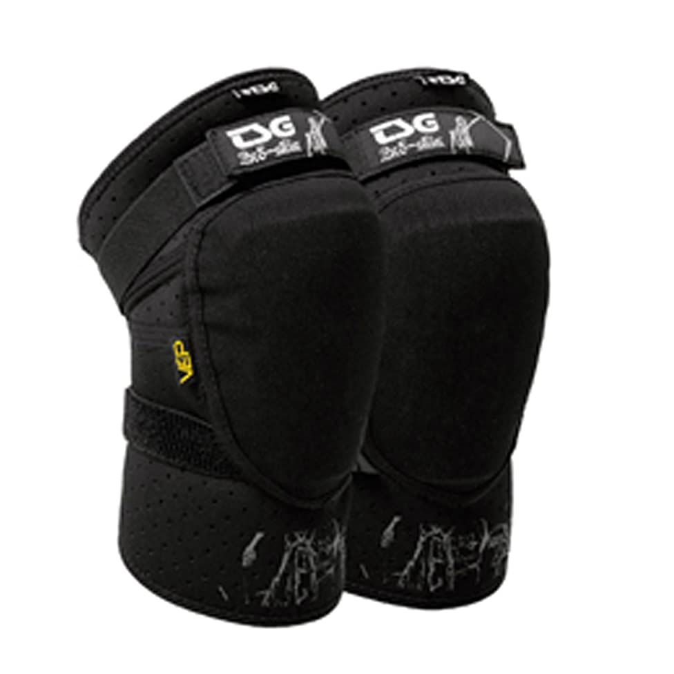 TSG Black Knee-Guard Slim w76285851778597