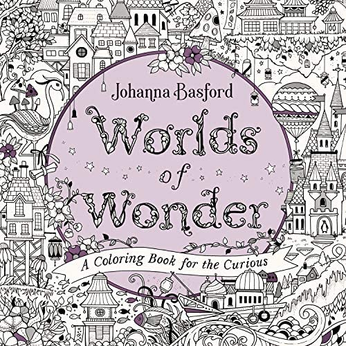 Worlds of Wonder A Coloring Book for the Curious product image