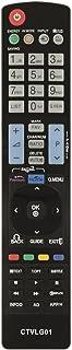 Common TV CTVLG01 mando a distancia universal para control remoto de televisores LG, sin configuración, ergonómico