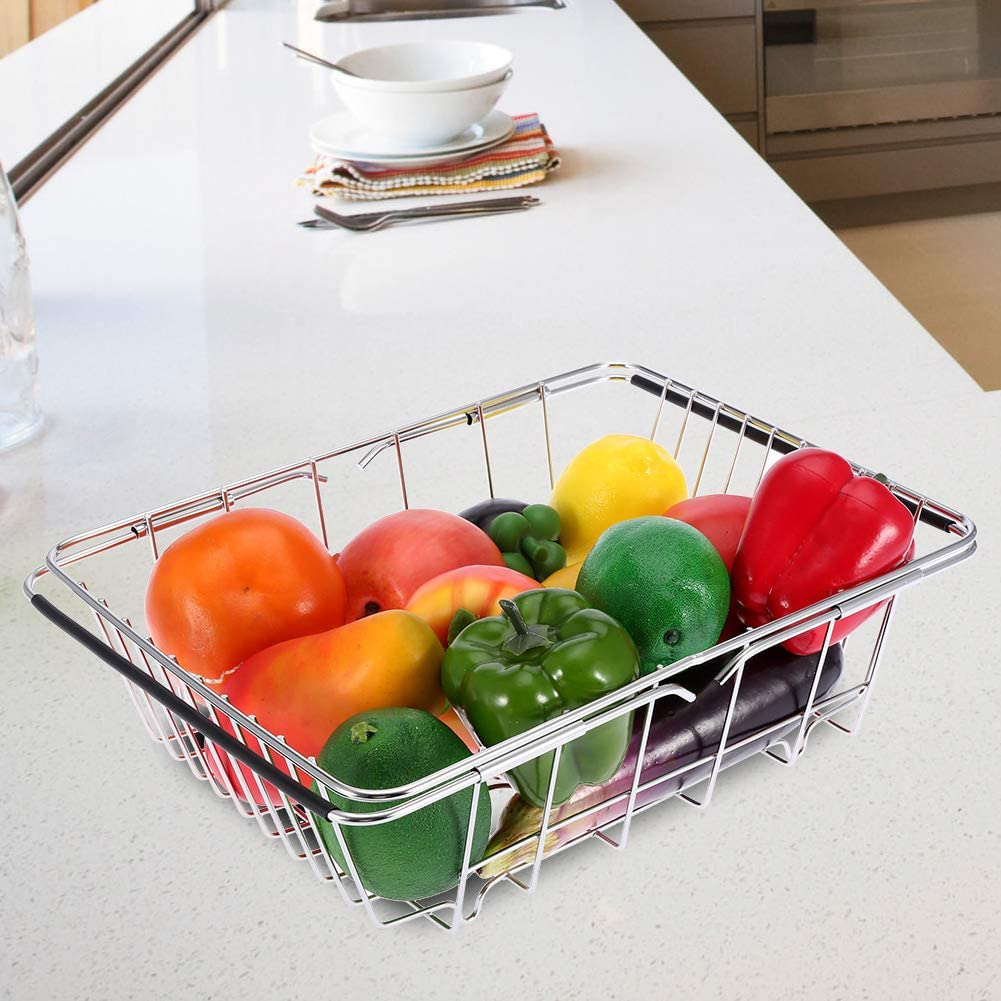 safety Kitchen Max 78% OFF Drying Rack High Hardness Dish Durable Steel D Stainless