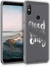 Sponsored Ad - kwmobile TPU Case Compatible with Xiaomi Redmi Note 5 (Global Version) / Note 5 Pro - Case Soft Crystal Cle...