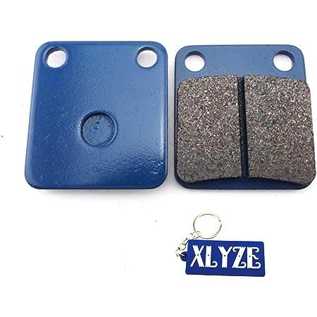 XLYZE Plaquettes de frein arrière pour Pit Bike et Dirt Bike 50cc/70cc/90cc/110cc/125cc/140cc/150cc/160cc CRF50 KLX