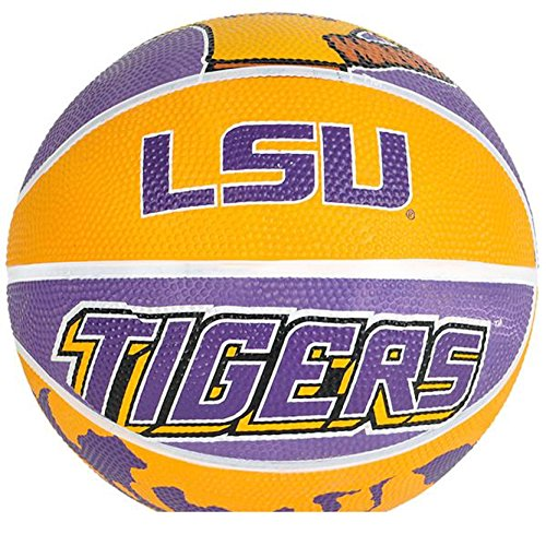 Fantastic Deal! LSU University Mike The Tiger Mini Basketball (1)