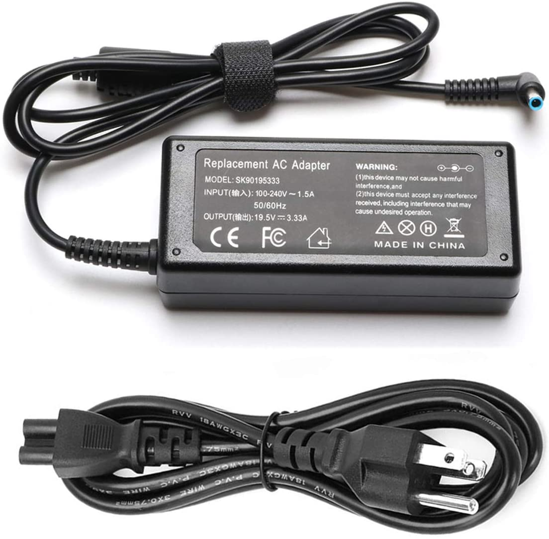65W AC Adapter Laptop Charger Compatible for HP 17 15 Envy store Max 74% OFF X3 13