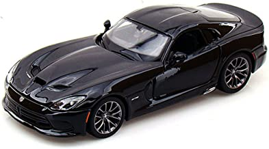 Maisto 2013 Dodge Viper SRT GTS 1/24 Scale Diecast Model Car Black