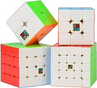 LXZ-TOY 5x5 4x4 3x3 2x2 Cubo de Velocidad Profesional Cubo M