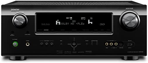 Denon AVR-891 7.1 Channel 135W AV 1.4 3D-Ready Receiver - Black