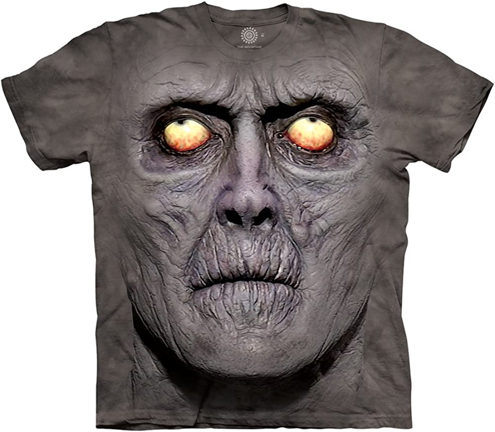 ZOMBIE PORTRAIT The Mountain by Distortions T-SHIRT Men/'s TEE Size L NEW W//TAG
