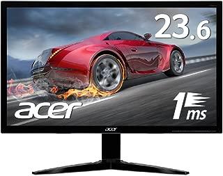Acer ゲーミングモニター KG241Qbmiix 23.6インチ 応答速度1ms/Free Sync/スピーカー内蔵