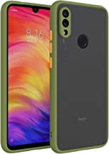 ANVIKA Redmi Note 5 Pro Smoke Case Phone Cover, TPU Silicone Frame Protective Hard Back and Side Soft Smoke Cover for Redmi Note 5 Pro [Green]