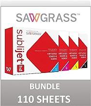 Sawgrass Virtuoso SG400 Sublimation Printer Ink Set - Complete Set with 4 Ink cartridges (CMYK). Sublijet HD Ink. Bundle w...