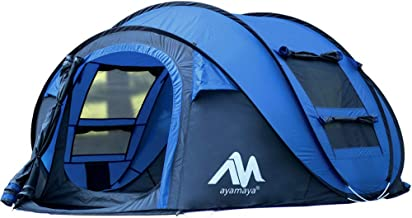 4 person canvas tent