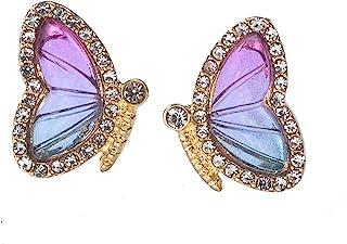 گوشواره های پروانه ای جواهرات مد حشرات شیرین هدیه جذاب خانم های دختر