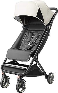 Best WYB Stroller, Folding Portable Trolley, High-View Rainproof Mini Lightweight Newborn Stroller, Four-Wheel Shock-Absorbing Stroller That Can Be Boarded Review