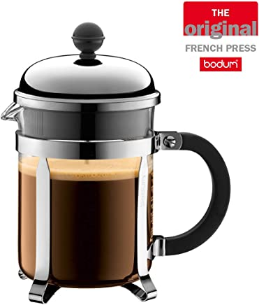 BODUM CHAMBORD 4 Cup Coffee Maker, Shiny, 500 ML