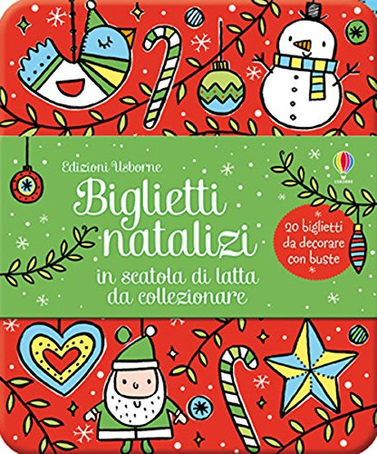 Biglietti natalizi in scatola di latta da collezionare. Ediz. illustrata: Biglietti natalizi in scatola di latta da collezionare (20 b