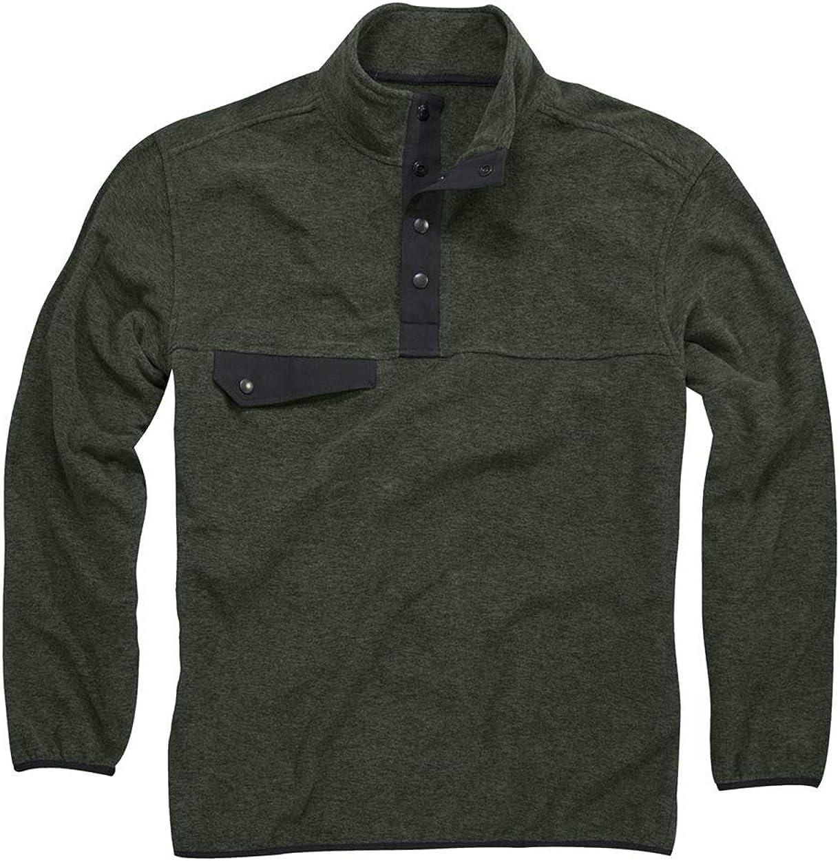 Free shipping anywhere in the nation DRI Duck Men's 7352 Denali Fleece Sleeve Philadelphia Mall Long Pullover