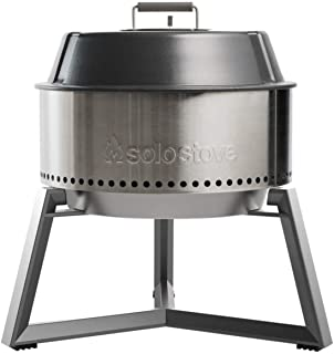 Solo Stove Modern Grill Ultimate Bundle Heavy Duty Portable Charcoal Grill for Outdoors Great BBQ Smoker Grill Includes Gr...