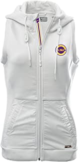 Levelwear LEY9R Womens Iris Banner Stripe Full Zip Hooded Vest 00DH01PWT056U-P
