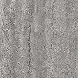 Klebefolie Industrial-Optik Beton Dekofolie Möbelfolie Tapeten selbstklebende Folie, PVC, ohne Phthalate, grau, 45cm x 2m, Stärke: 0,095 mm, Venilia 53134