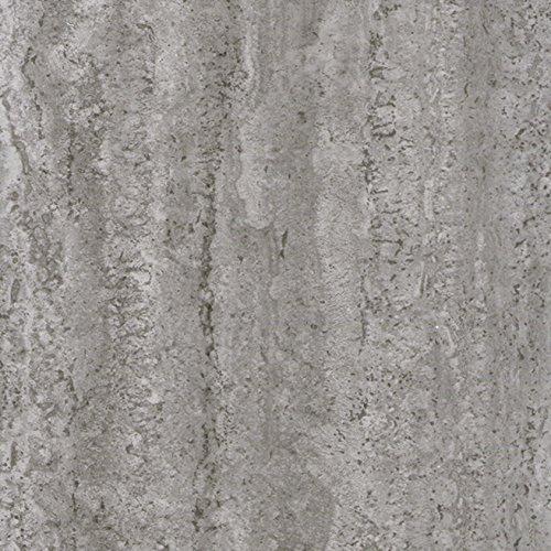Venilia Beton Klebefolie Industrial-Optik, Dekofolie, Möbelfolie, Tapeten, selbstklebende Folie, PVC, ohne Phthalate, grau, 67,5cm x 2m, Stärke: 0,095 mm, 53145, 67,5 cm x 2 m