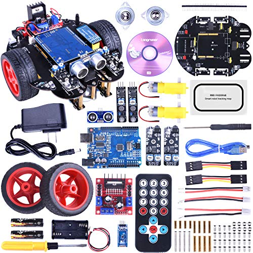 for ArduinoIDE Robot Car Kit with Line Tracking...