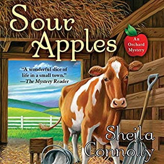 Sour Apples audiobook cover art