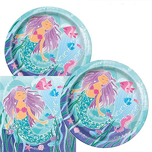 Best mermaid plates and napkins for 2020