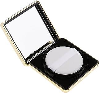 Baosity エアクッションボックス パウダーパフ コスメ パフ 空パレット メイクアップ DIY 化粧品 詰替え 旅行 便利 3色選べる - ブラック
