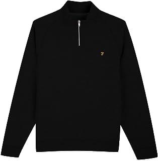 JIM 1/4 ZIP Black