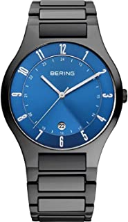 時計 BERING ベーリング Time Men's Full Titanium Collection Watch with Titan タイタン Link Band and scratch resistant sapphire crystal. Designed in Denmark. 11739-727 メンズ 男性用 [並行輸入品]