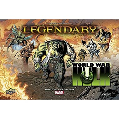 Upper Deck Legendary DBG: World War Hulk Expansion