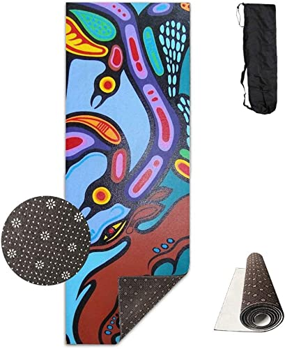 The Strength Mother Nature Deluxe Tapis de yoga antidérapant pour exercices d'aérobic Pilates