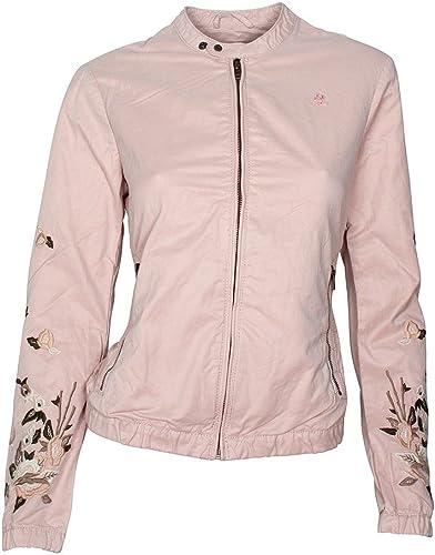 khujo Damen Orianna Embroidery Jacket Jacke