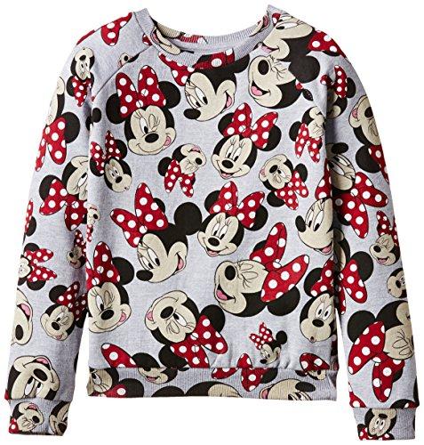 Eleven Paris Mädchen Sweatshirt MINNIEALL JP, Mehrfarbig (Grey Chiné), 140 (Herstellergröße: 10 ans)
