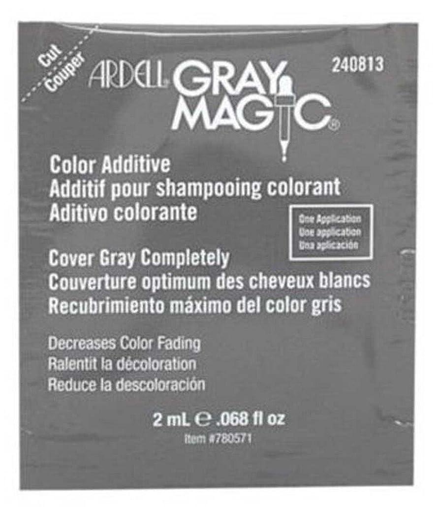 酔った定期的に閃光Ardell Grray Magic 2 ml Packette (Pack of 24) (並行輸入品)