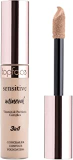 Topface Sensitive Mineral 3in1 Concealer 002 Rose Beige 12ml