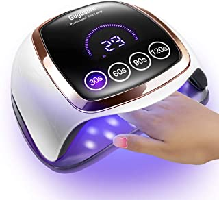 چراغ ناخن UV UV، لامپ های ناخن گیر Gugusure 168W برای خانه