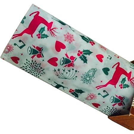 50 PCS Baking Parchment Wax Paper Nougat Candy Wrapper 25X21.8 cm Elk