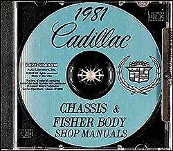 1985 Cadillac Seville Eldorado Shop Service Manual CD