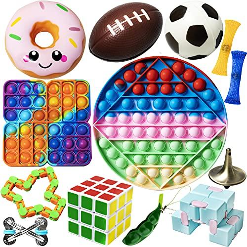 Diffrant Pop Sensory Fidget Toys Set Jouets Sensorielle...
