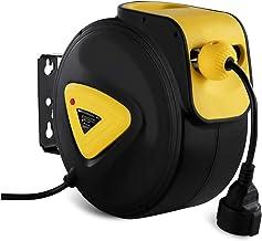 MSW kabelhaspel kabelhaspel automatisch PRO-E 15 (verlenging: 15 + 1,5 m, 230 V / 50 Hz, intuïtief vastzetten van de kabel...