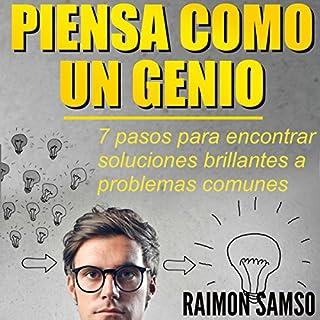 Piensa como un genio: 7 pasos para encontrar soluciones brillantes a problemas comunes audiobook cover art