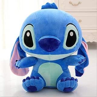 X&MM Muñeca de la Felpa del Animado Lilo y Stitch Stich Juguetes de Peluche para los niños de los niños del Regalo de cumpleaños,Azul,35cm