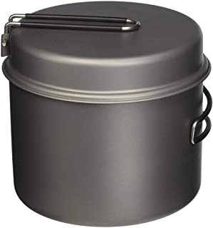 TOAKS CKW-1600 Titanium Pot with Pan Perfect For Outdoor Camping & Hiking Cookware 1600ml